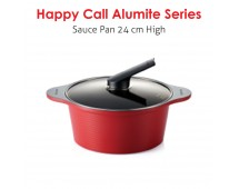 Happy Call Alumite Ceramic 24 cm Sauce Pot (High)