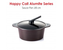Happy Call Alumite Ceramic 28 cm Stock Pot