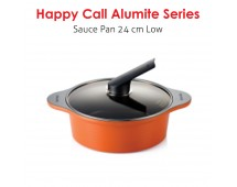 Happy Call Alumite Ceramic 24 cm Sauce Pot (Low)