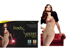Body Secret Germanium Slimming Bodysuit (Twin Pack)