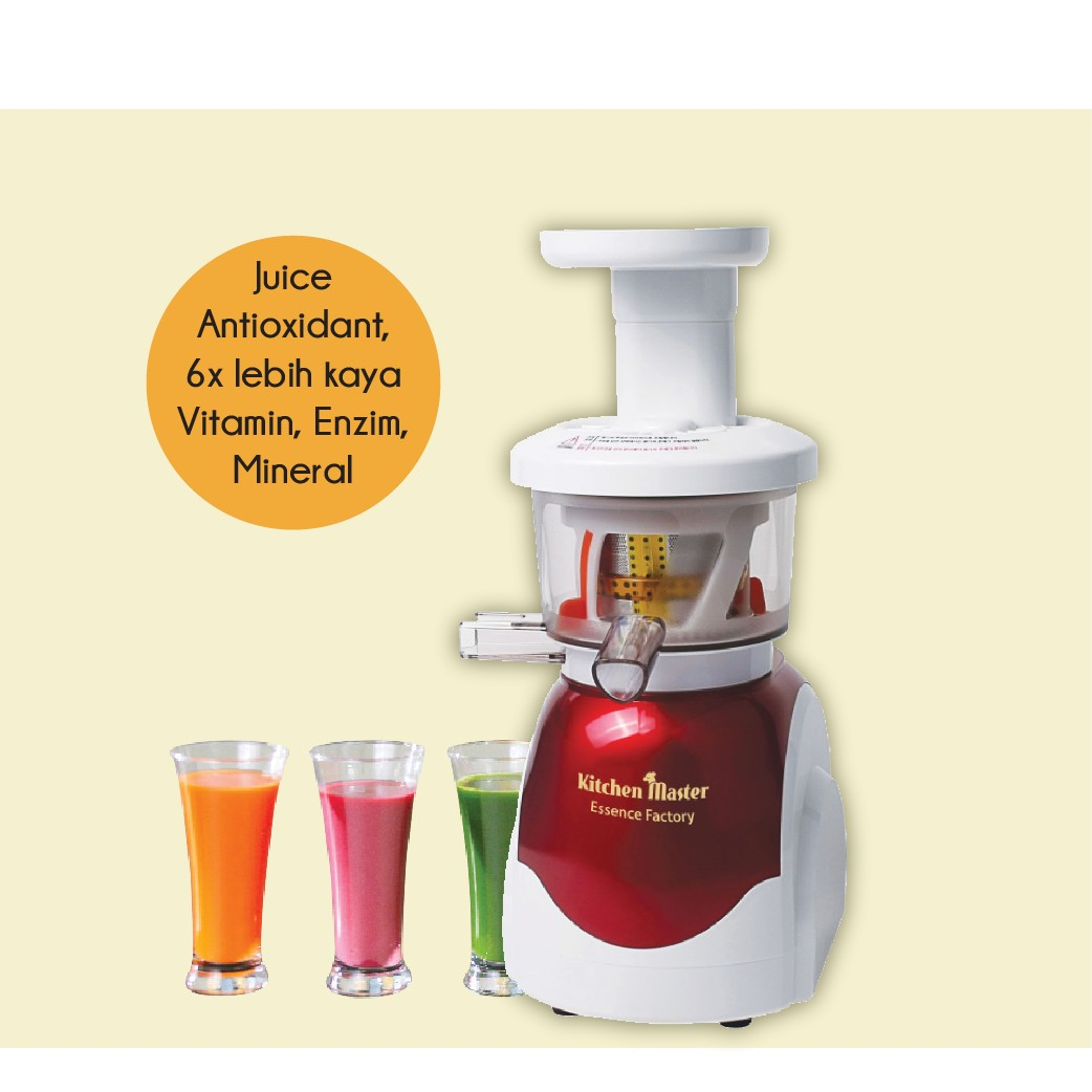 Jual kitchen master essence factory juicer pembuat jus segar