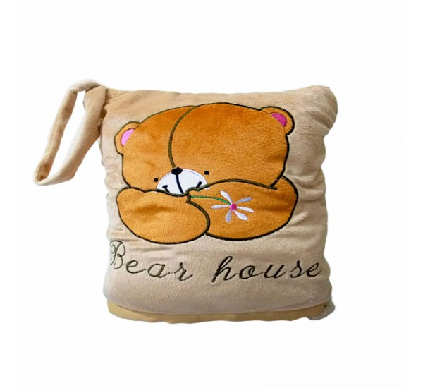 BALMUT GOOD SLEEP TRAVEL BEAR HOUSE - Bantal Selimut