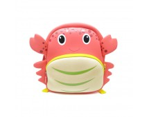 Tas Lino Kids Backpack-Crab Style Red - Tas Anak