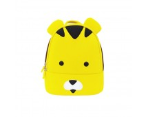 Tas Lino Kids Backpack-Tiger Style Yellow - Tas Anak