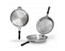 Homzace Duo Smart Pan - alat masak multifungsi stainless steel