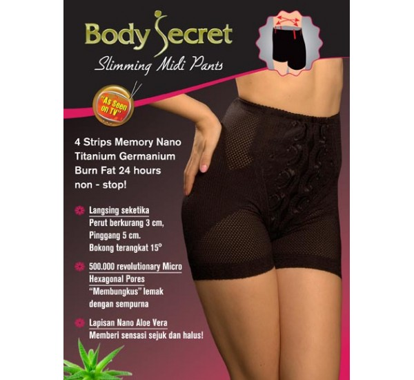 Body Secret - Slimming Midi Pants